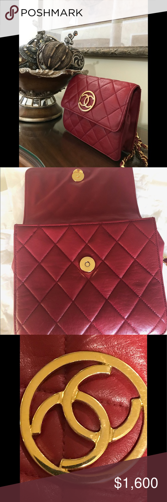 CHANEL Vintage Lambskin EXTRA PICS This preloved bag was