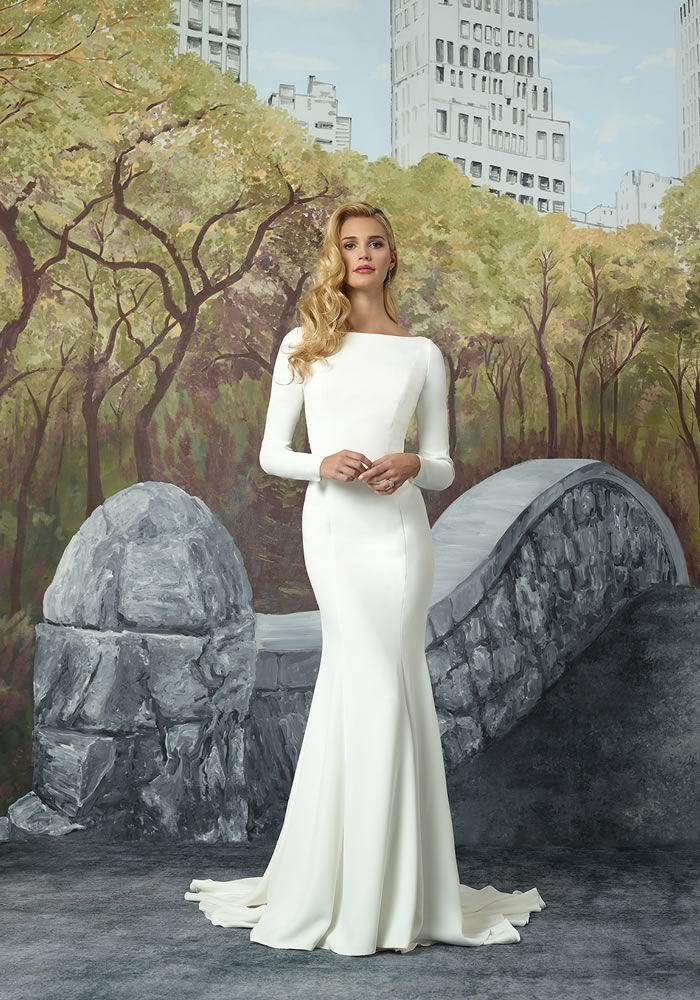 Justin Alexander Modern Edge Collection Minimalist Wedding Dresses