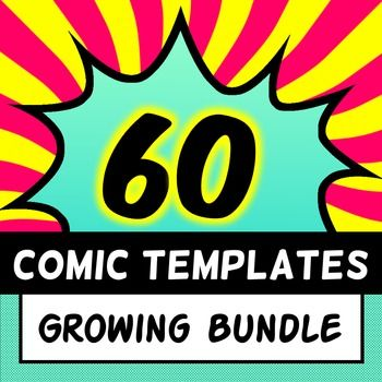Comic Strip Templates  Big Bundle  Template Comic And Graphic