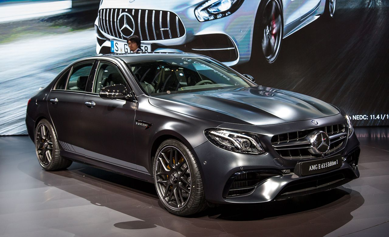 2018 Mercedes Amg E63 Not Quite Unlimited Power But Close Mercedes Amg Mercedes Benz New Car Mercedes Benz E63