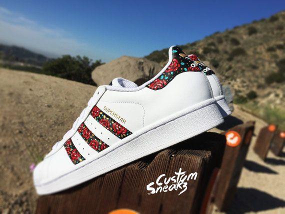 pretty nice 05047 d1f89 Custom Adidas Superstar for men and women Adidas custom Hand