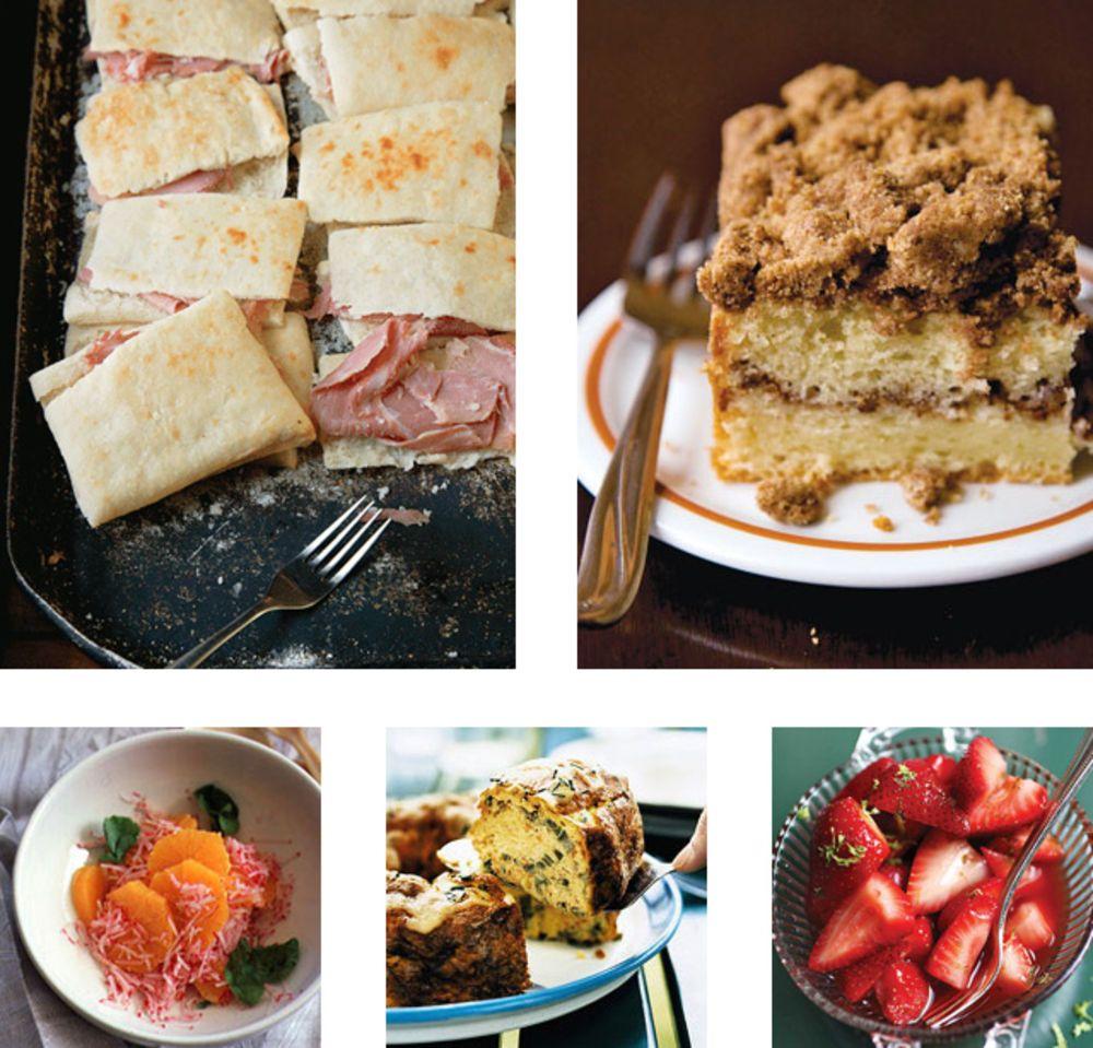 Menu New Year's Day Brunch Brunch menu, Brunch, Saveur