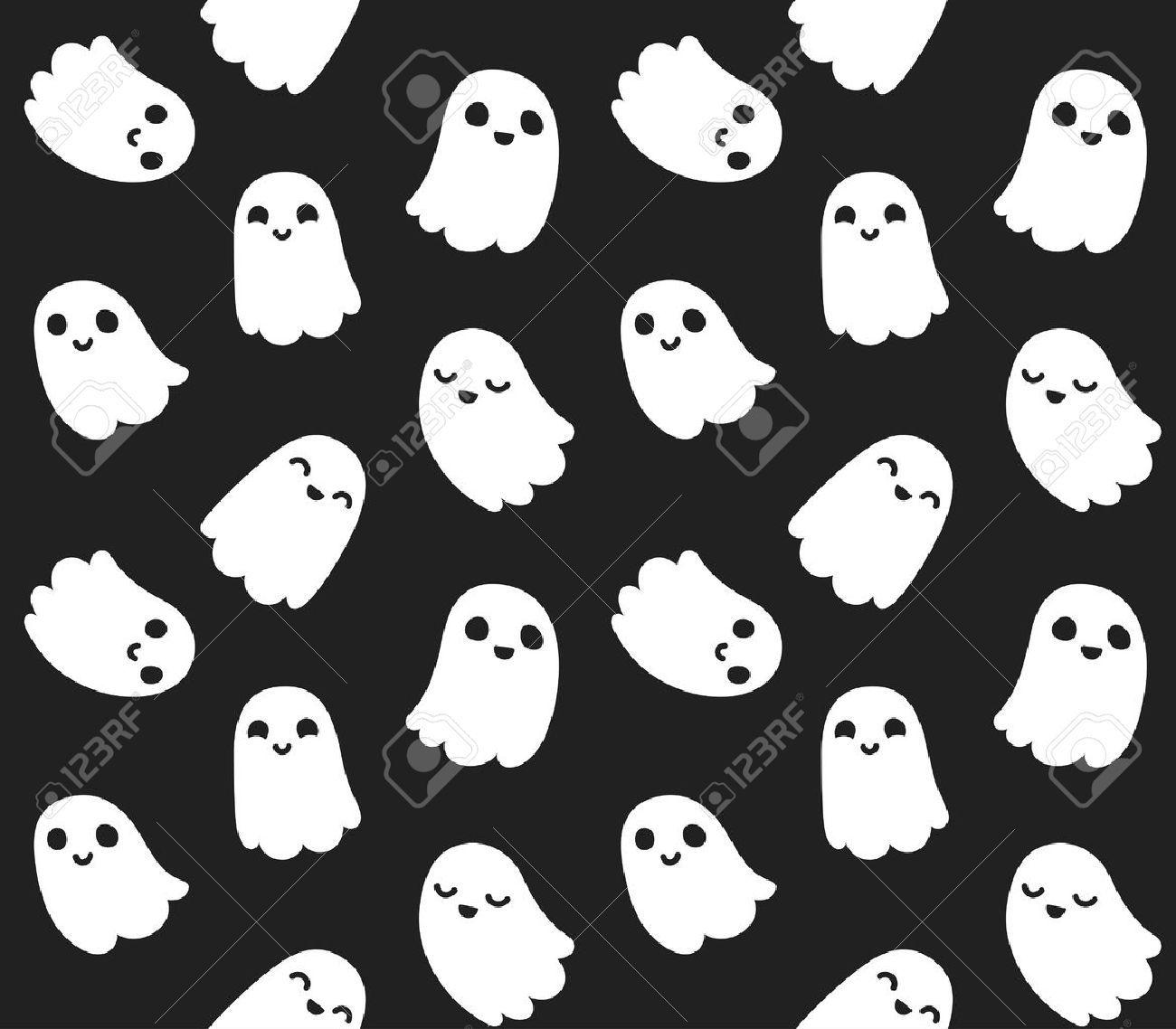 Pin by Allysa Moss on spooky in 2020 Ghost cartoon, Cute