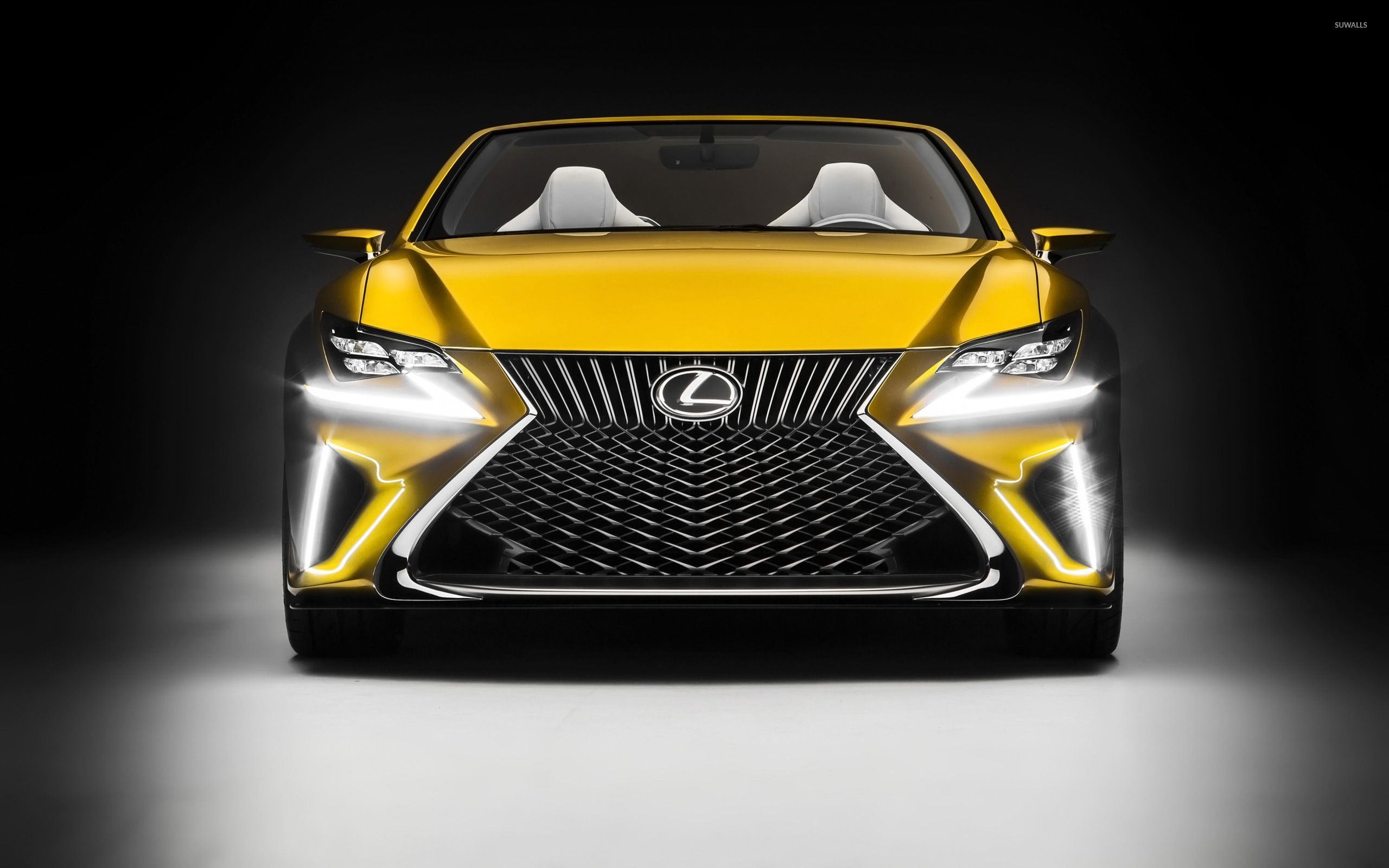 Yellow Lexus Lfc Concept Wallpapers Every Day Concept Cars