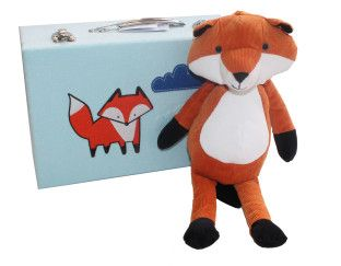 Fox in Suitcase - Ready for Holiday!