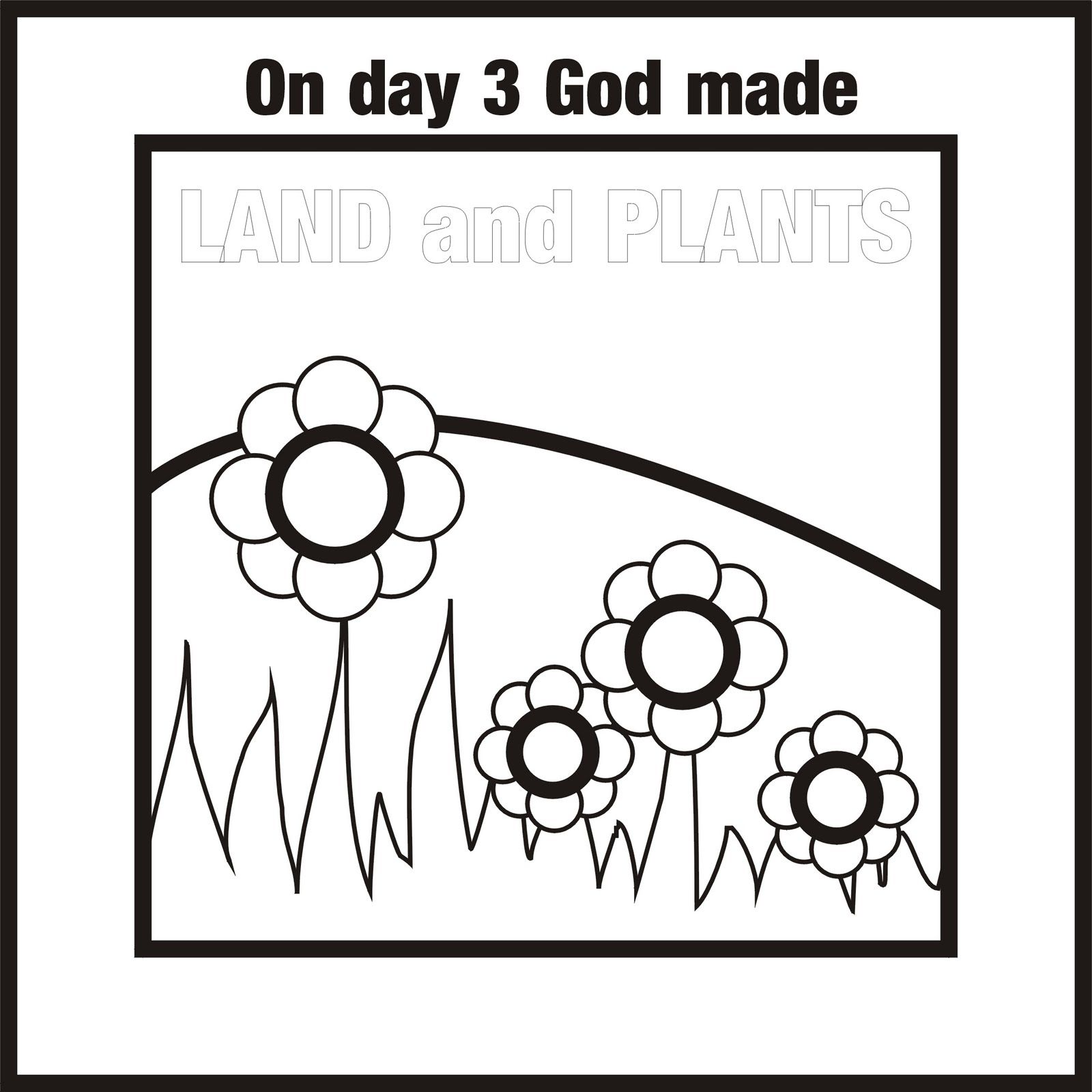 Free coloring pages of days of creation News to Gow Pinterest