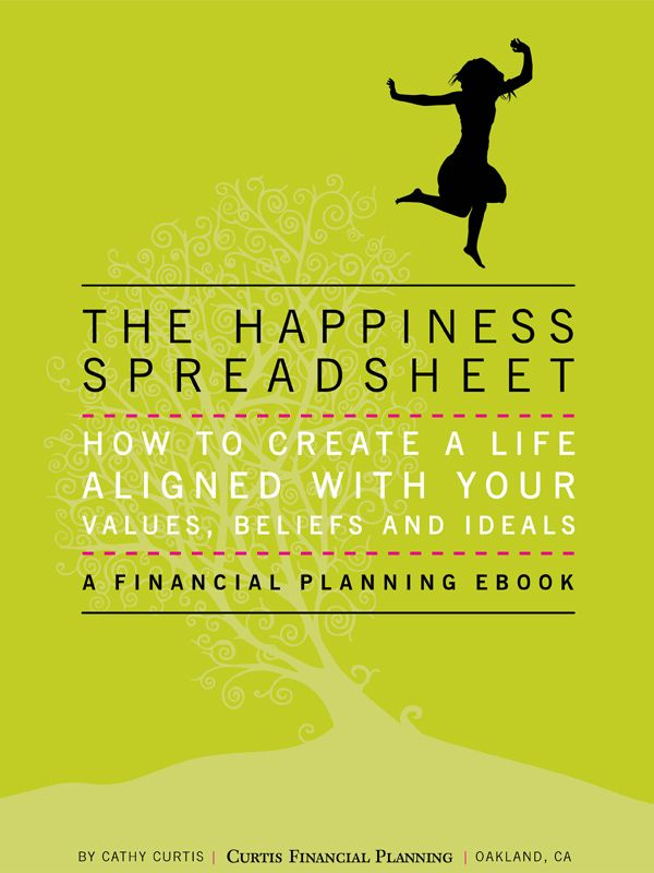My new ebook The Happiness Spreadsheet   www/The