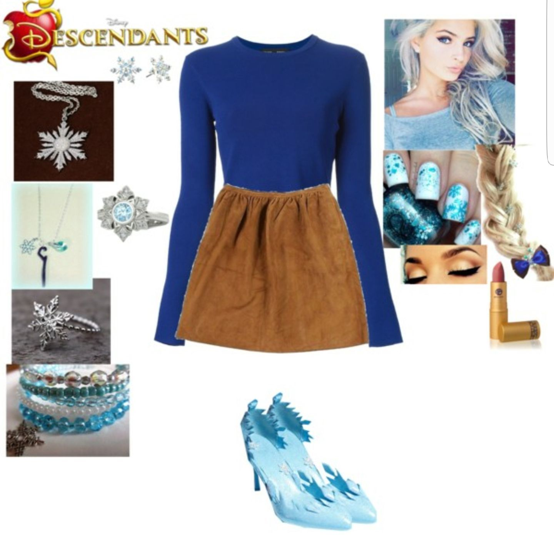 Daughter of Elsa (Descendants Love Story)   clothes/home