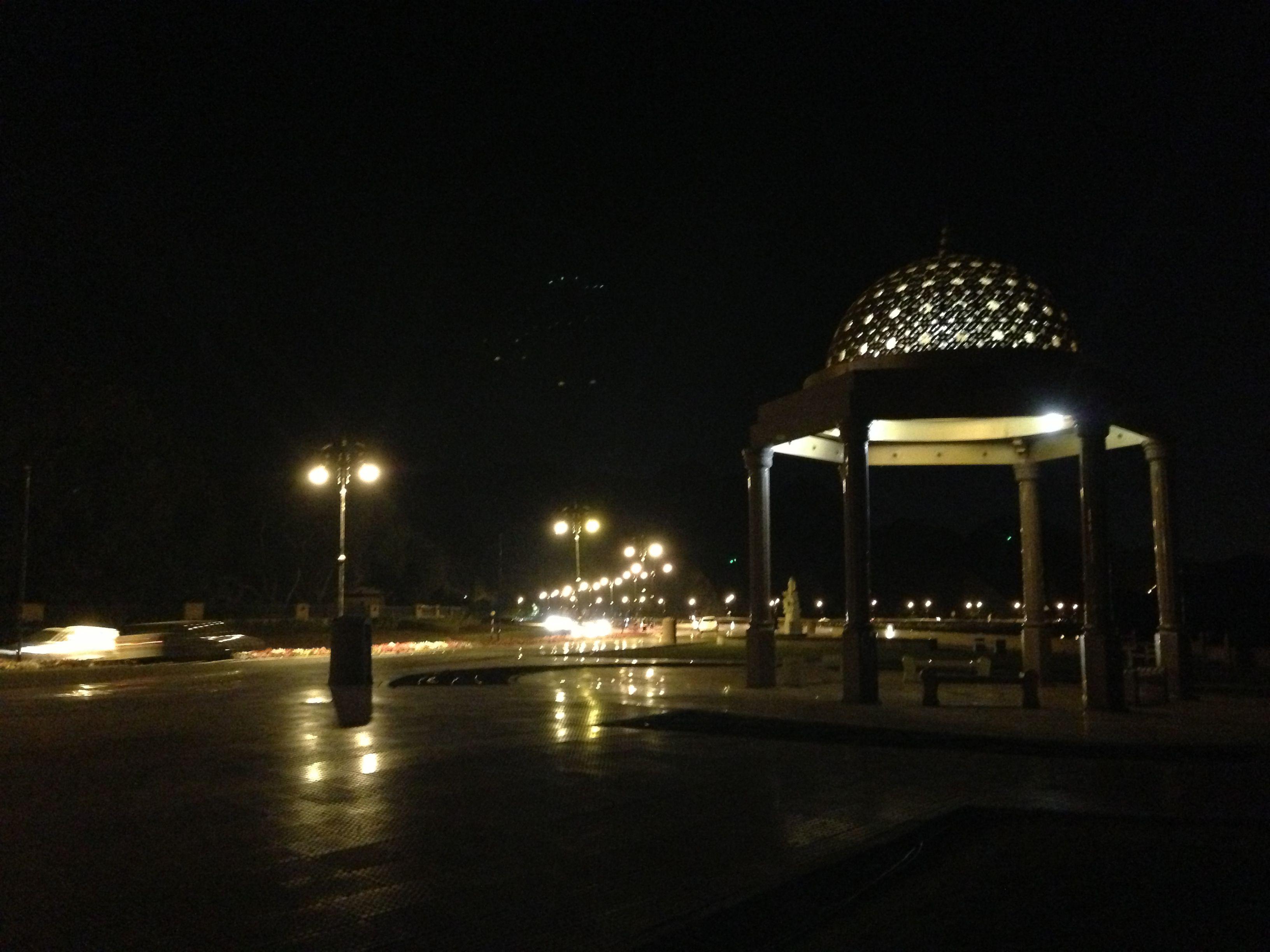 Muscat - Oman by night