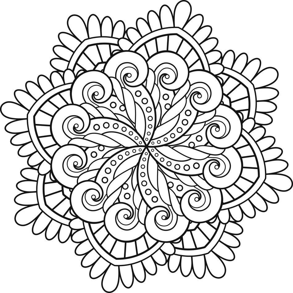 Mas De 100 Dibujos De Mandalas Para Imprimir Y Colorear Mandalas Para Colorear Mandala Para Imprimir Mandalas Faciles