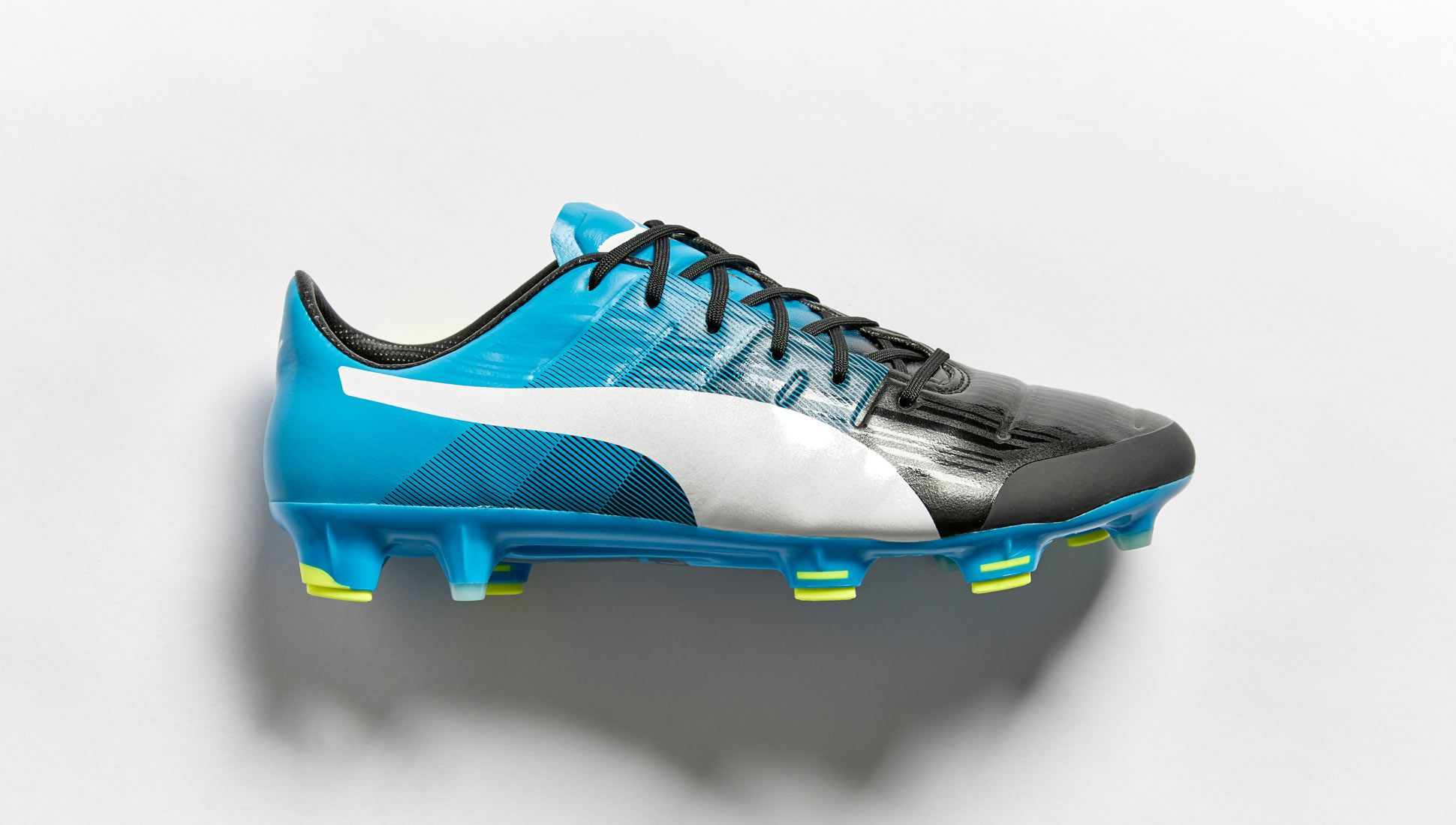 puma evopower blue and white