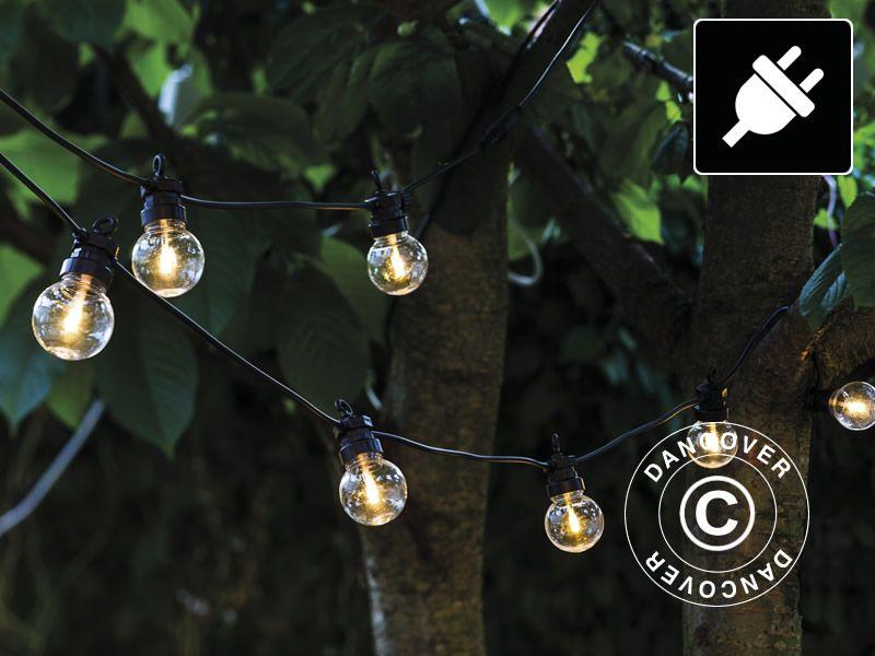 LED Lichtsnoer Beginset Lucas 3m ZwartHelderWarm Wit
