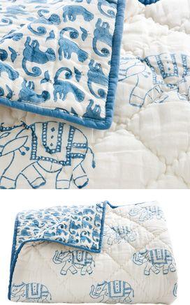 rikshaw design - taj toddler quilt. would love for E!