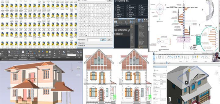 Download A Modern House Ready Made Autocad Plans Architecture