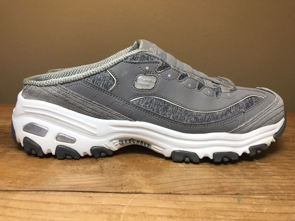 Skechers D'Lites Resilient Ladies Size 11 M Sneakers Gray