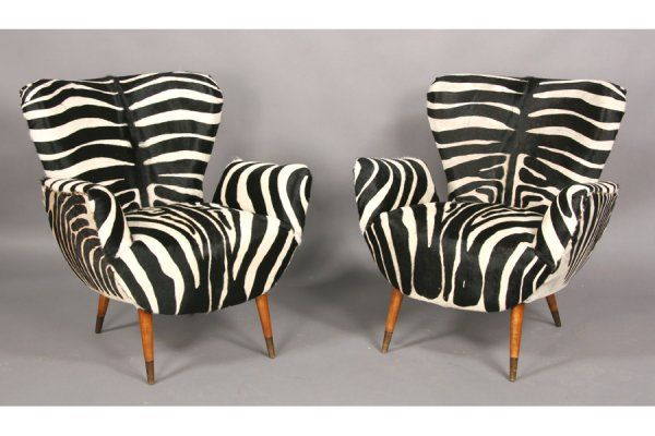 Enjoyable 91 Modern Faux Zebra Club Chairs Furniture Objects Cjindustries Chair Design For Home Cjindustriesco