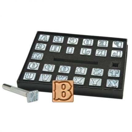 "8130-00 - Craftool 1/2"" (13 mm) Standard Alphabet Set"