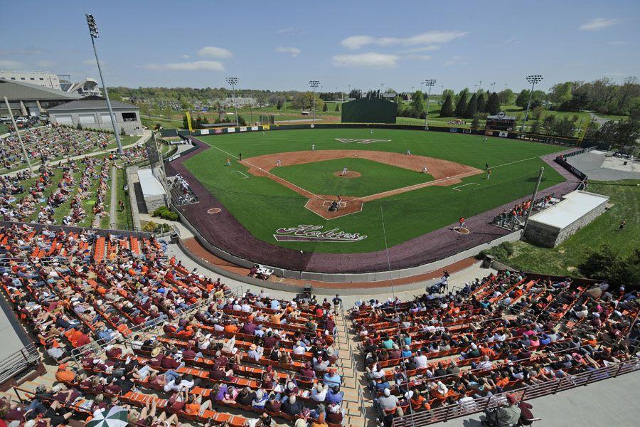 Virginia Tech, Blacksburg, VA Baseball stadium, Virginia