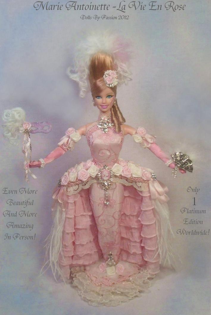 barbie pink marie antoinette enchanted fairy princess altered ooak doll passion ebay - Barbie Marie