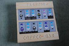 Tassimo Coffee Pod Holder Pine Wood Shelving Storage Unit Rack Cuisine