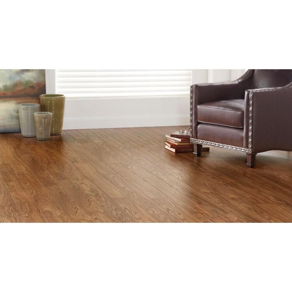 Home Decorators Collection Golden Butternut 12 Mm Thick X 4 15 16 In Wide X 50 3 4 In Length Laminate Flooring 14 S Home Decorators Collection Home Flooring