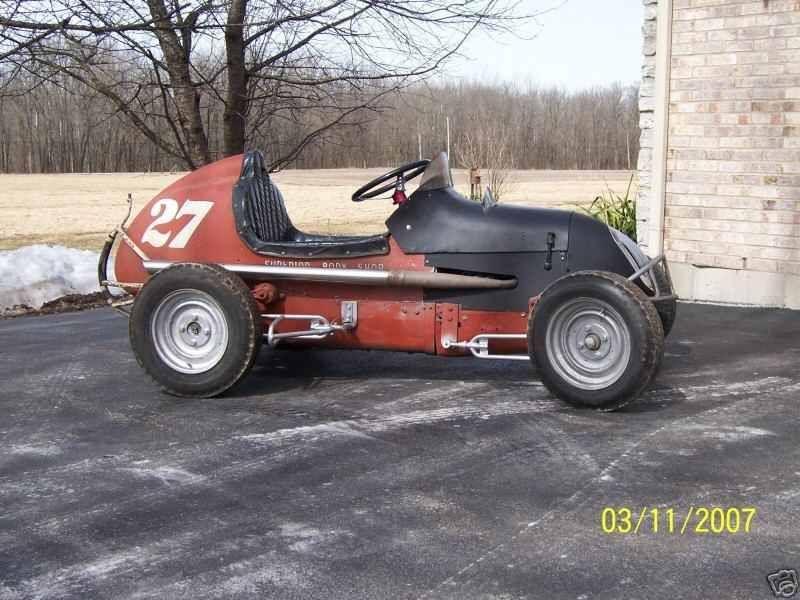 1950 s tq midget steering box
