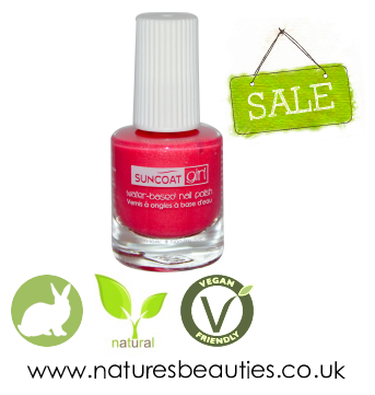 Suncoat Natural Water Based Nail Polishes That Are 100% Cruelty Free ...