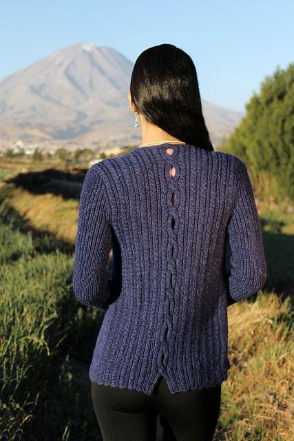 Ravelry: Lupe Cardigan pattern by Laura Zukaite | Knitting - Cardis ...