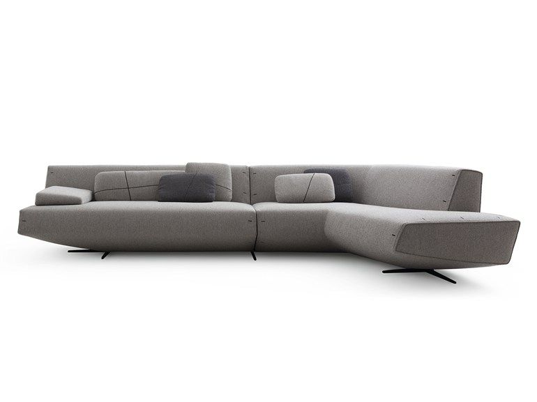 Corner Upholstered Fabric Sofa Sydney By Poliform Design Jean Marie Massaud Poliform Sofa Fabric Sofa Design Sofa Styling