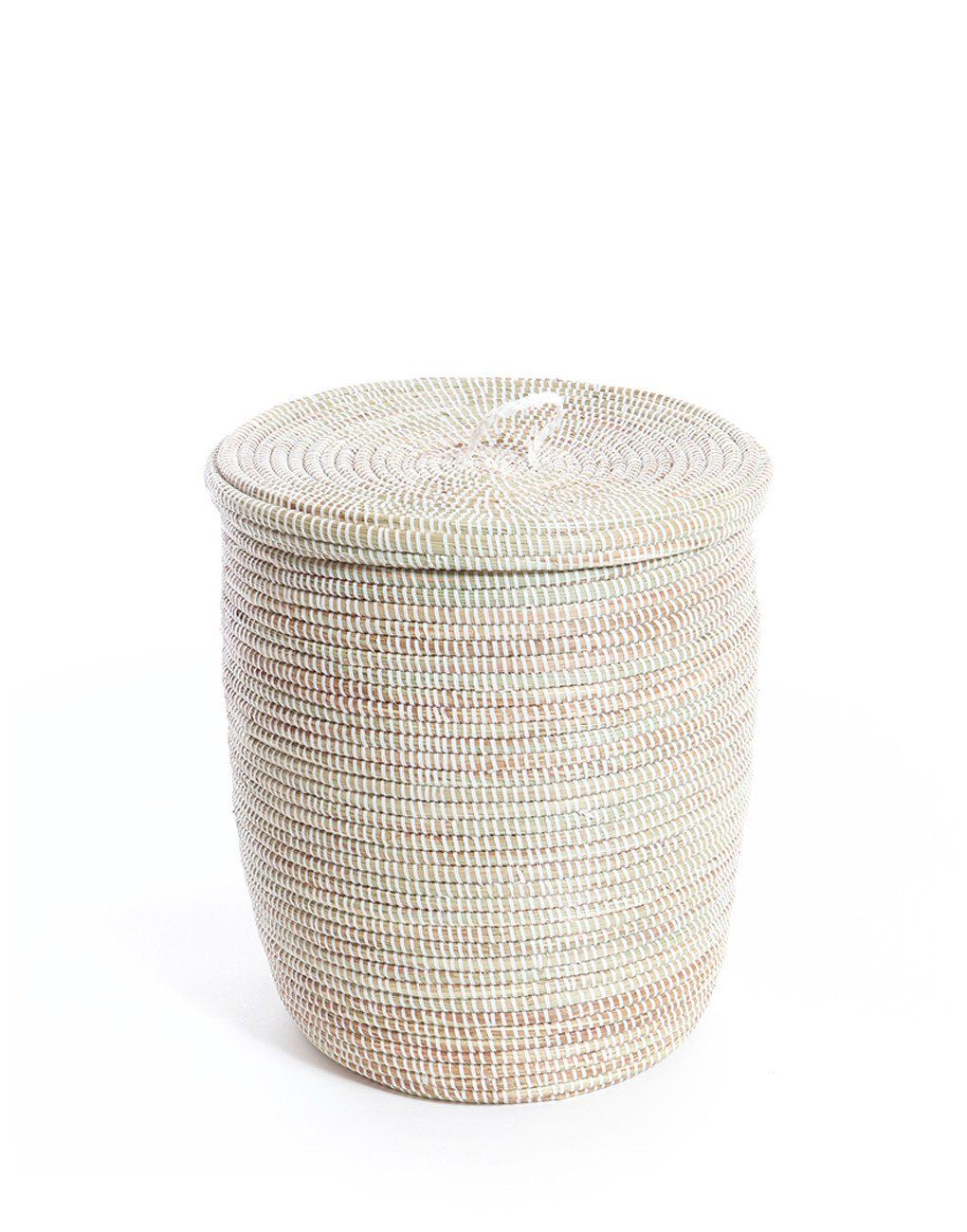 Keep Your Clothing And Linens Out Of Site Until Laundry Day With This Hamper It Has Been Hand Woven From Cattail S