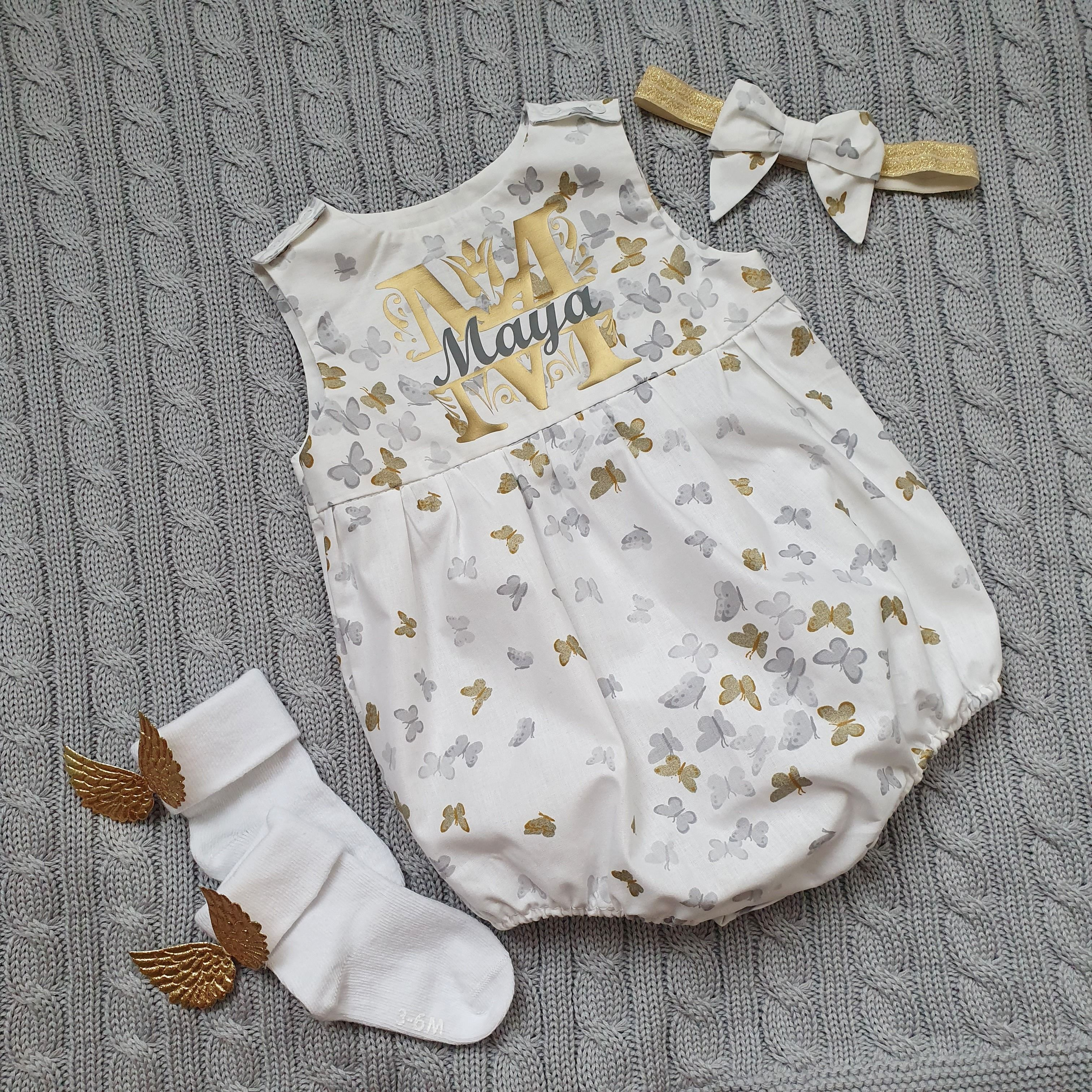 US Newborn Baby Girl Floral Clothes Ruffle Sleeve Shorts 4Pcs Holiday Outfit SE