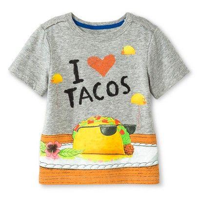 a6e18d35 Toddler Boys' Dragons Love Tacos Tee Shirt - Gray - Genuine Kids from  Oshkosh™