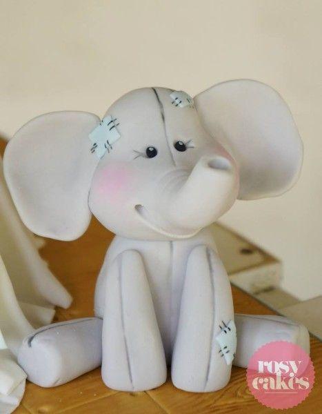 rosycakeselephant cake decorating Pinterest Cake Elephant