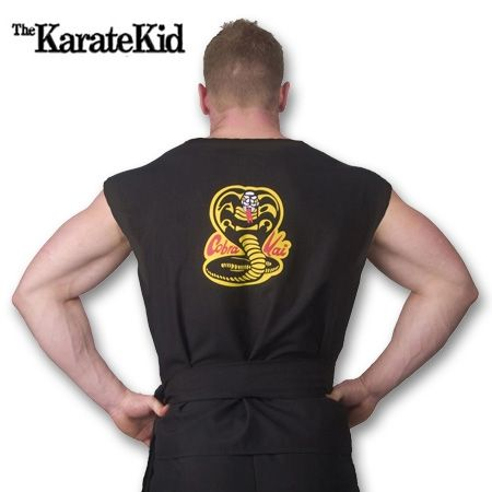 Cobra Kai Costume now available from http://www.karatemart.com
