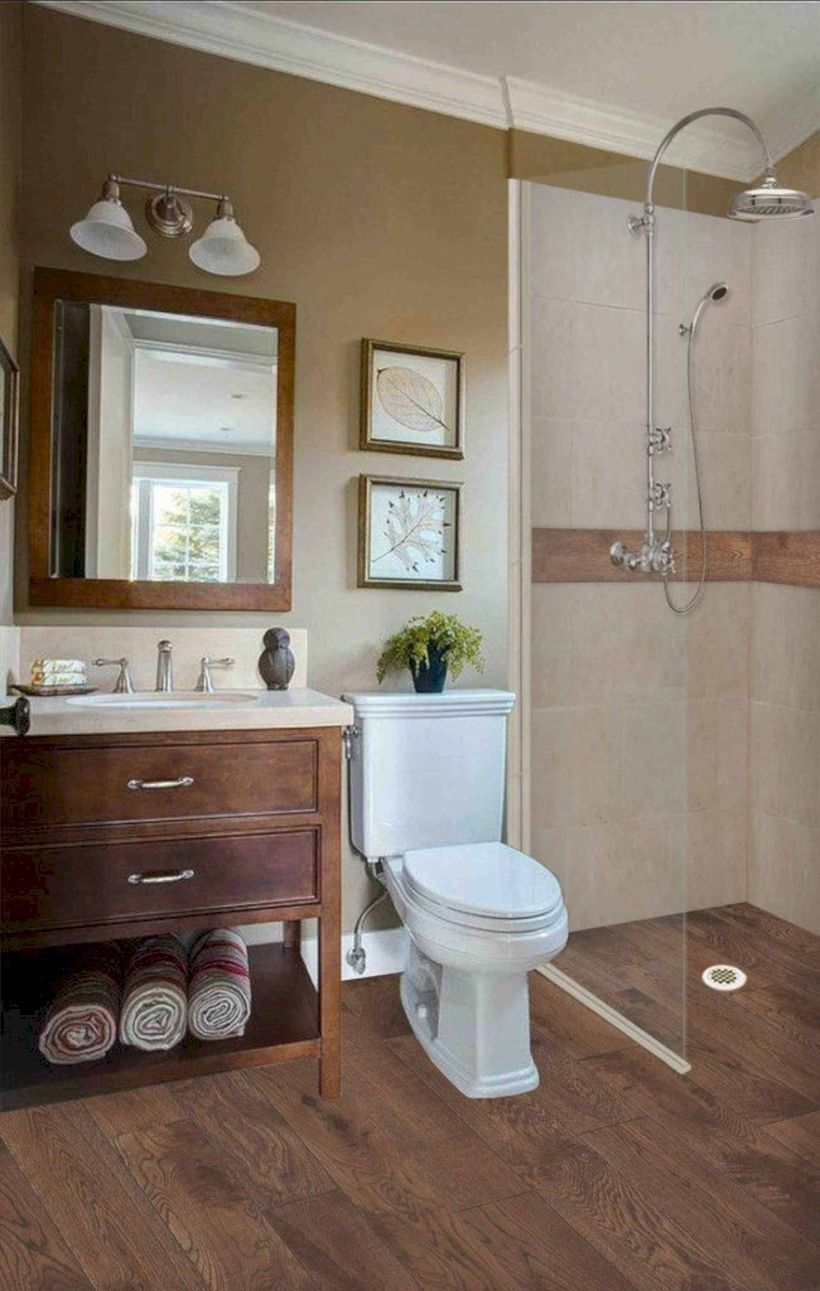48 delicate bathroom design ideas for small apartment on a budget rh pinterest com