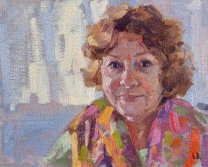 Oil Portrait Alla Prima Demonstration Video Lena Rivo Oil