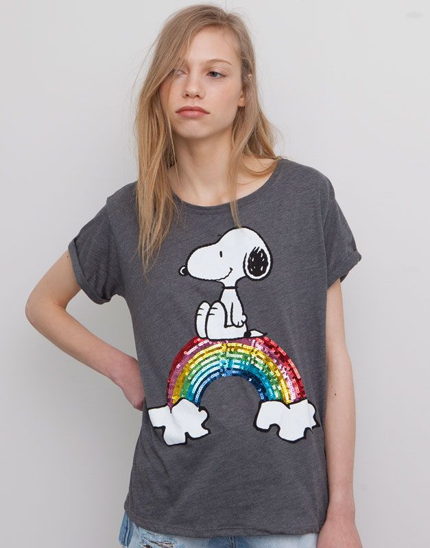 cd50a05dc78f6 CAMISETA PRINT SNOOPY