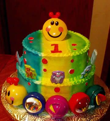 Baby einstein birthday cake birthday party ideas for Baby einstein decoration