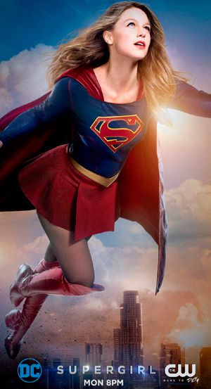 Supergirl Season 2 Dc Poster The Cw Channel Supergirl Supergarota Super Heroi