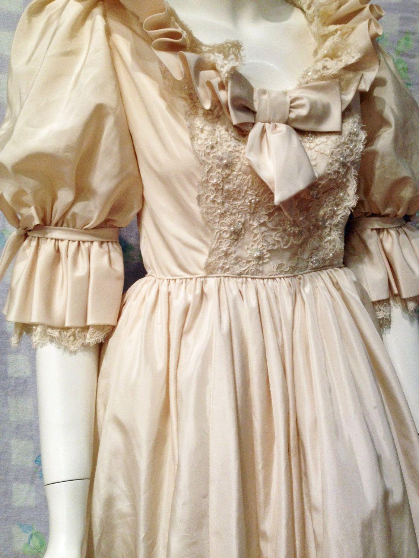 Vintage Princess Diana Replica Wedding Gown: Diana Replica Wedding Dress At Reisefeber.org