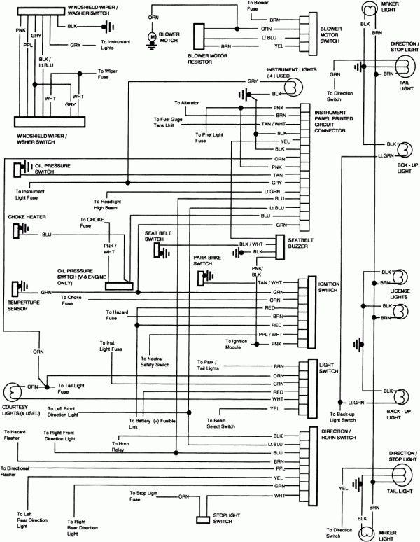 Chevy Trucks 1985 Truck, International Truck Wiring Diagram
