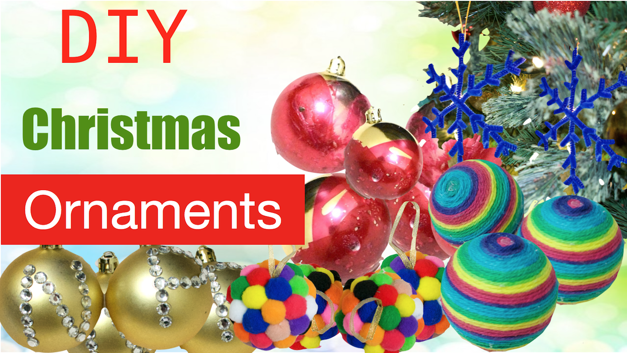 Diy christmas ornamentseasy affordable fast christmas balls diy