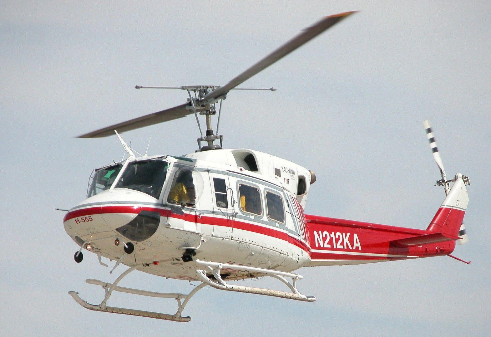 Обои AB-212, Agusta-Bell, транспортный вертолёт. Авиация foto 12