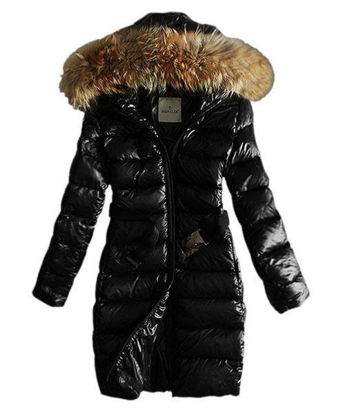 f0180377e0541 Moncler Coats Women Pure Color Hooded Fashion Black