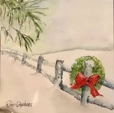 watercolor christmas card ideas – Google Search