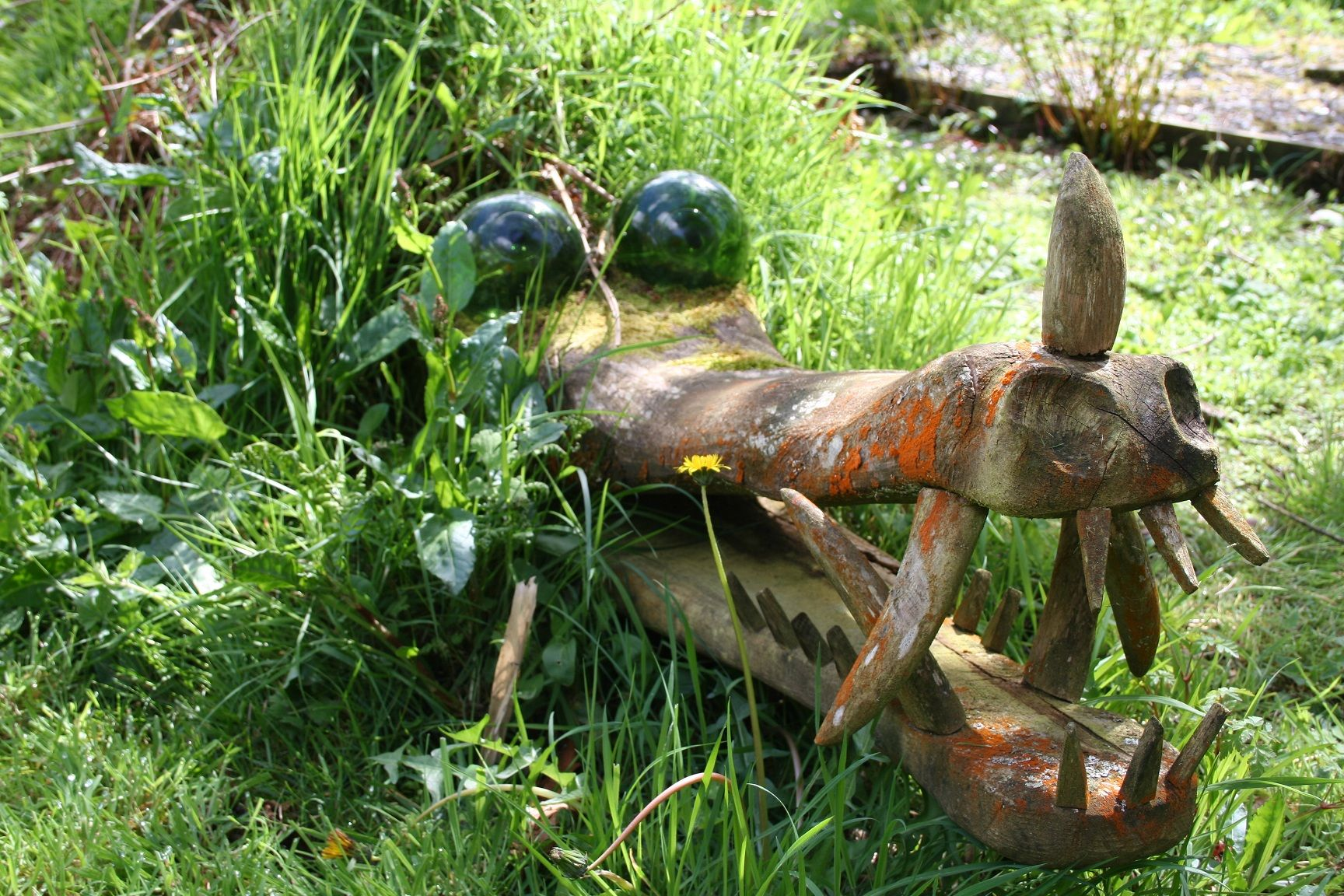 Gardens make a great backdrop to sculpture but artist Peter Boex has gone a step further, carving imposing artworks from the trees in his woodlands, writes LOUISE DANKS    Art in the garden should be thought-provoking, exciting …