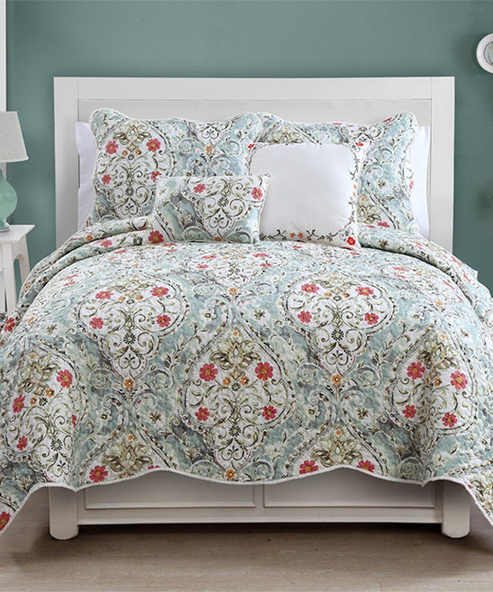 Another Great Find On Zulily Blue Evangeline Quilt Set By Luxury
