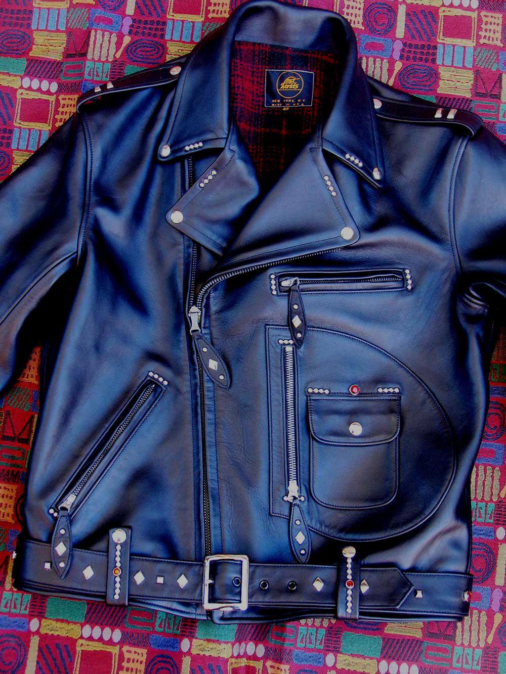 Buco J24 Vintage Horsehide Motorcycle Jacket Custom Leather Jackets Leather Jacket Men Style Jackets [ 1333 x 1000 Pixel ]