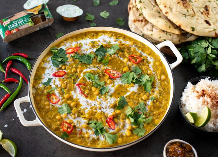 Pulled Aubergine Curry Knorr Uk Recipe In 2020 Food Recipes