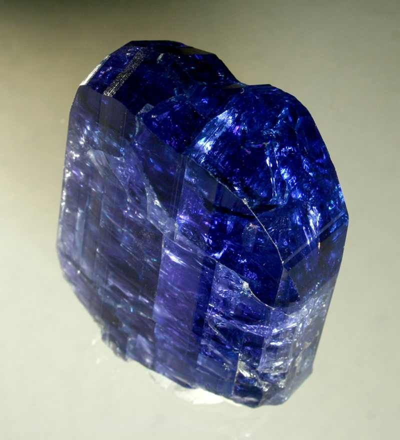 Zoisite Arusha, Tanzania In 1967, a purple-blue variety of ...